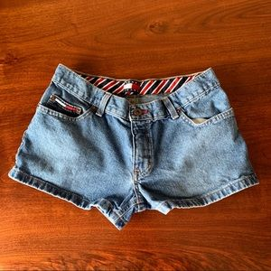 Tommy Jeans 2003 Jean Shorts Juniors Size 5